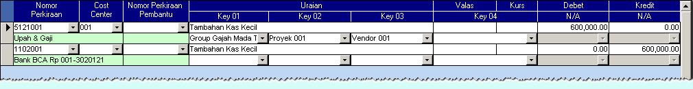 Tampilan Detail Jurnal Datasheet